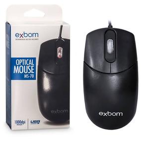 Mouse Exbom Ms-10 1000dpi Led Azul