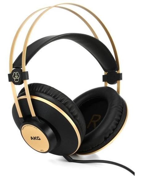 Fone Headphone Over-ear Akg K92 Profissional Garantia