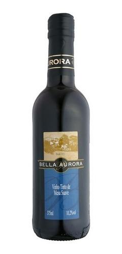 Vinho Tinto Suave Isabel/bordô 375ml - Bella Aurora