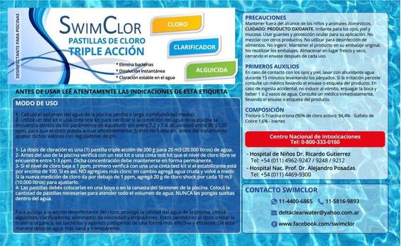 Pastillas Triple Acción Swimclor Por Kilo Mercado Envios