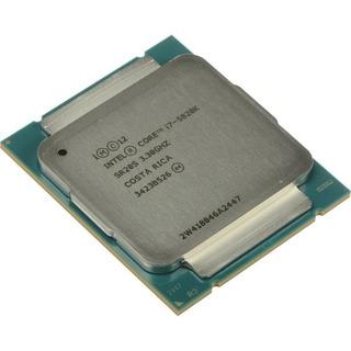 Procesador I7 5820k 3.3 Ghz (turbo 3.6 Ghz) (6 Nu/12hi)