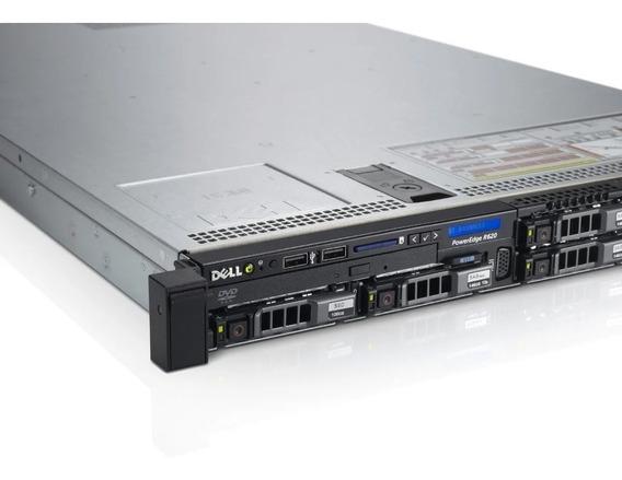 Servidor Dell Poweredge R620 2x 4core 2x 300gb 32gb Ram