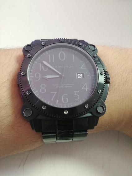 Relógio Hamilton Khaki Belowzero 1000m Automático