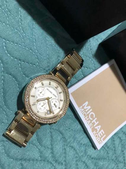 Relógio Feminino Michael Kors Pulseira Dourada