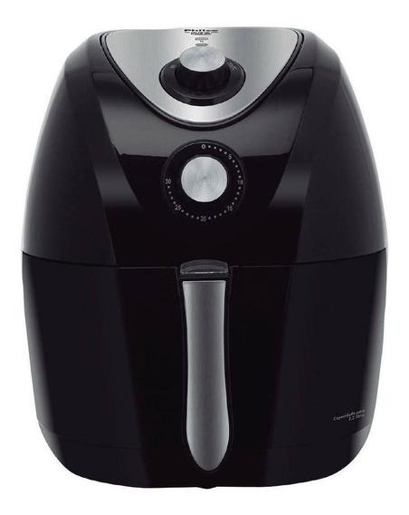 Fritadeira sem óleo Philco Air Fry 3.2 L Saúde preta 220V