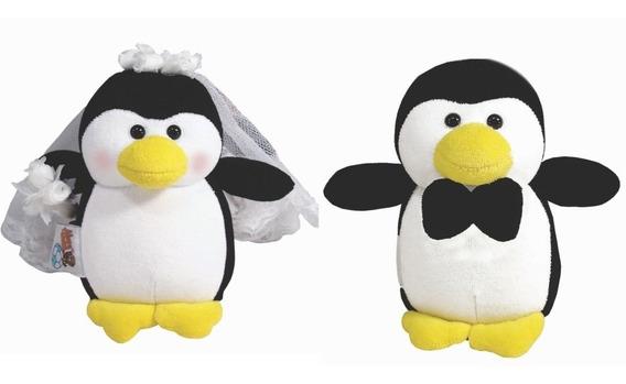 Casal De Pinguim Noivos