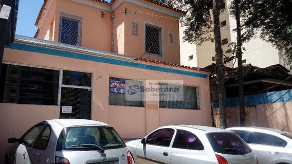 Casa Comercial Para Locação, Centro, Campinas - Ca2960. - Ca2960
