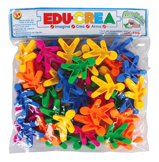Juguete De Ensamble Colorikids De Plastico Flexible