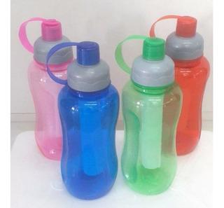 Botella Plástico Con Barra Refrigerante 22 Cm