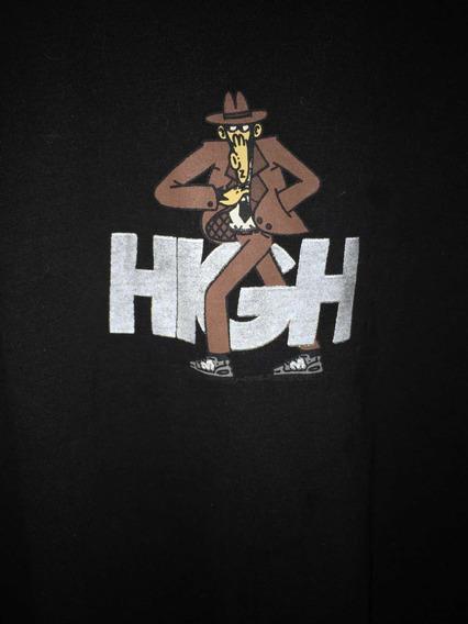 Camiseta High Company Manga Comprida Mudo Logo Refletivo
