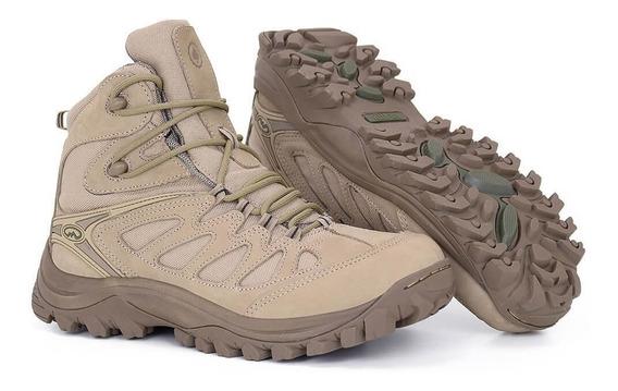 Bota Airstep Hiking Boot 5700-25 - Tan - Bravo 10 Promoção