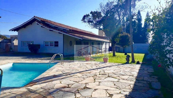 Casa Com Piscina Em Mogi Das Cruzes/sp. - Ca0540