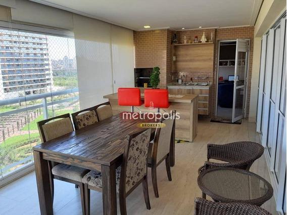 Apartamento Com 4 Dormitórios À Venda, 179 M² Por R$ 1.690.000,00 - Cerâmica - São Caetano Do Sul/sp - Ap2580