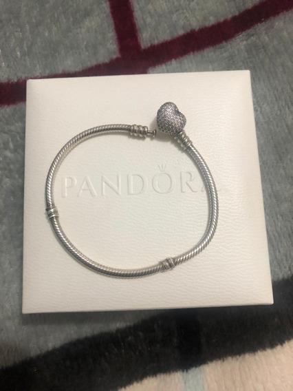 Bracelete Sempre Em Meu Coração Pandora Original