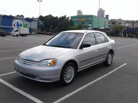 Honda Civic 1.7 Lx Aut. 4p Financio Em Ate 48x Fixas!
