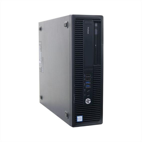 Desktop Hp Compaq I5 600g2 8gb 240gb Ssd - Usado