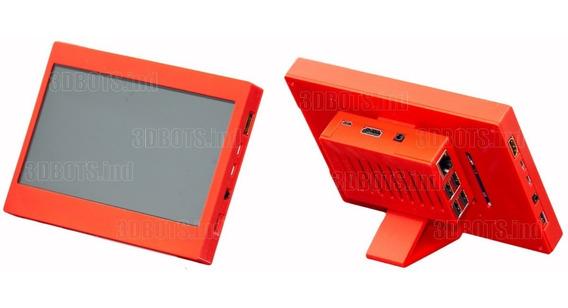 Case P/ Raspberry Pi 2/3 E Display De 7