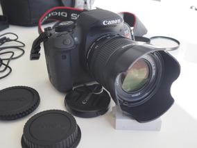 R$1800 Canon 5ti Lente 18-55 Stm Extras Menos De 5 Mil Clics