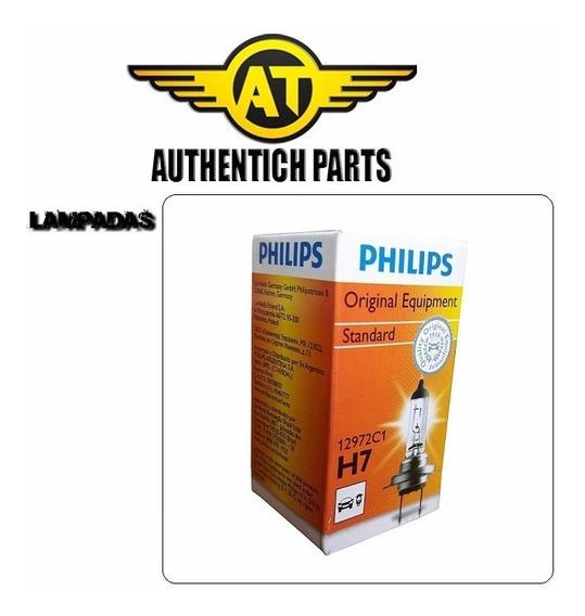 Lampada Philips Standard H7 Gm Chevrolet Meriva 1.8 16v 02 À 04 - Lampada Do Farol Baixo