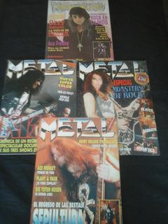 Revista Metal + Madhouse (4 Ejs)