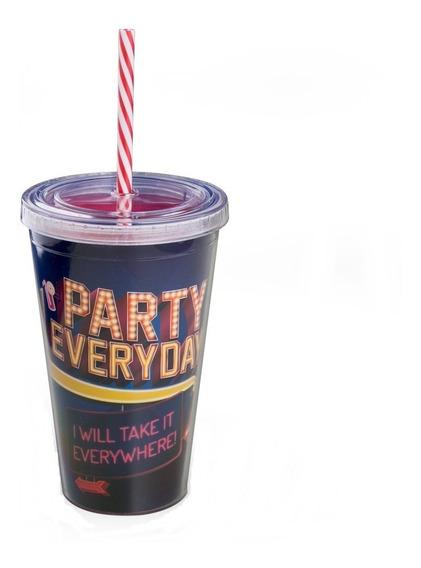 Copo Canudo Party Everyday Uatt