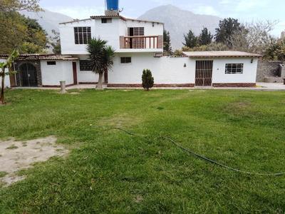 Alquilo Casa De Campo En Cieneguilla