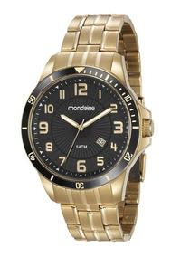 Relógio Masculino Mondaine Dourado 78758gpmvda2 Nota Fiscal