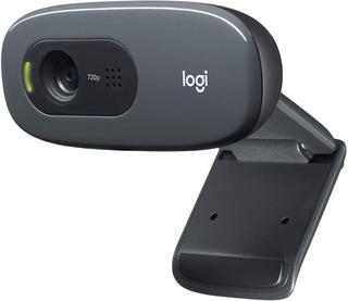 Camara Webcam Logitech Hd C270 720p Micrófono