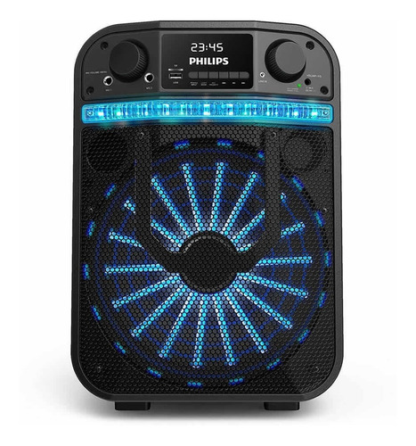 Parlante Portatil Philips Party Carry On Tanx20/77 Black