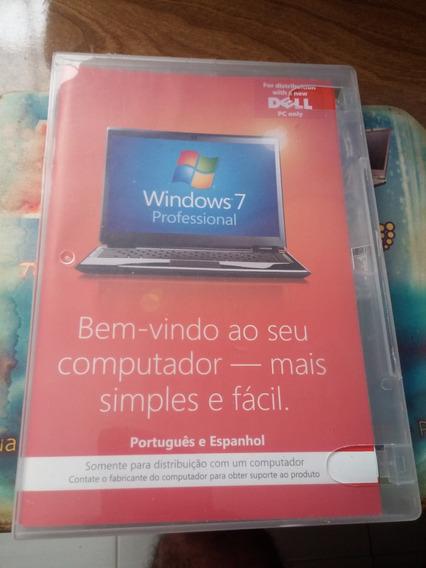 Windows 7 Professional X64 Bits Original (usado 1 Vez)