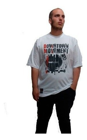 Remera Hombre Manga Corta Keel Over Downtown