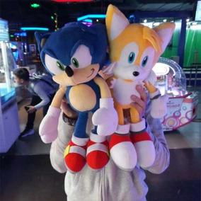 Sonic The Hedgehog Ou Tails - Gigante 40 Cm!!!