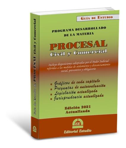 Imagen 1 de 3 de Guía De Estudio Procesal Civil -última Edición- Ed. Estudio