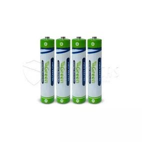 Kit 4 Bateria Pilha 3a Palito Green Aaa 1.5a P/ Controle