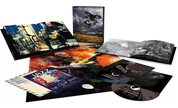 David Gilmour - Rattle That Lock Cd + Blu Ray Box Pink Floyd