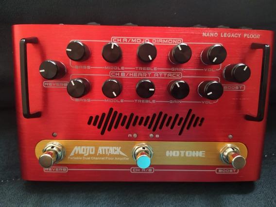 Pedal Amplificador Hotone Mojo Attack