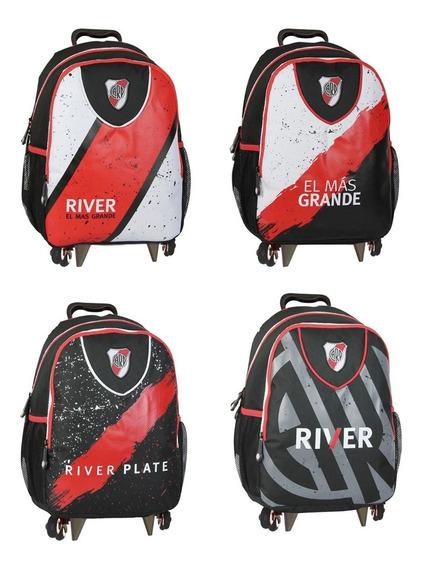 Mochila Carrito Futbol River Plate 15p Mmk Cgp3