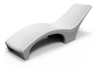 Reposeras Plásticas Combo 2 Un Reforzada Para Pileta Ideal Solarium Húmedo Camastro Exterior
