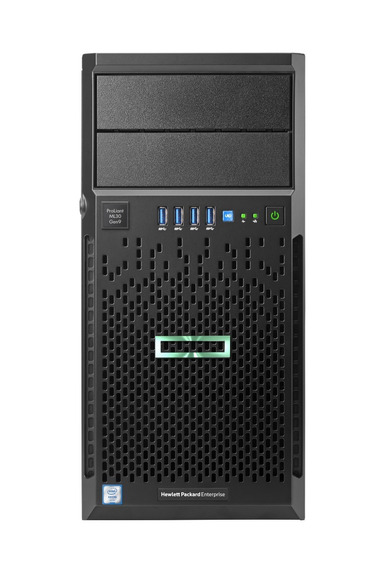 Servidor Hpe Ml30 Gen10 4lff Xeon E-2124 3.3 Ghz 32gb 1tb