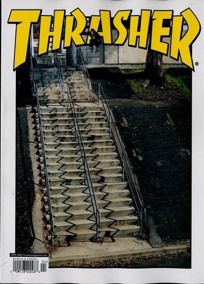 Thrasher Us - Revista De Pistas, Skatistas Entrevistas