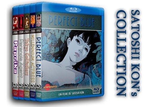 Satoshi Kon's Collection - Coleção De Filmes Em Blu-ray