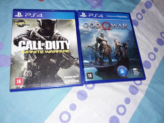God Of War Ps4 E Call Of Duty: Infinite Warfare