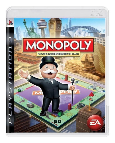 Monopoly Featuring Classic E World Edition Boards Ps3 Física