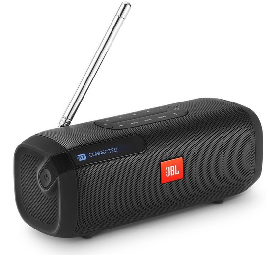 Caixa De Som Jbl Tuner Fm Speaker Bluetooth Portátil Com Rds