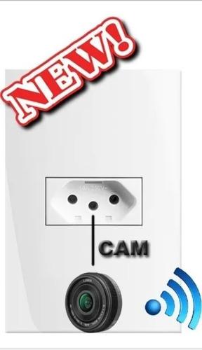 Tomada Ip Espiã, Ultra Micro Câmera Wi-fi. Ip 2° Geração Ful
