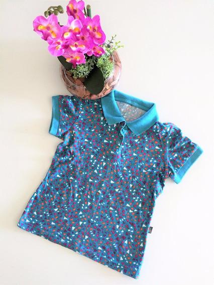 Camiseta Infantil Pólo Hering Kids Tam.6a