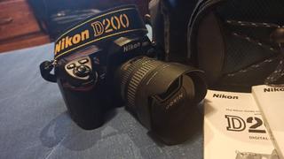 Nikon D200 Paquete Camara Profesional Reflex