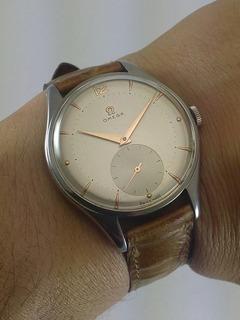 Reloj Omega Jumbo 38,3mm Cuandrante Corona Caja C/nuevo