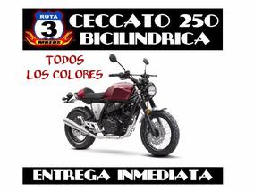 Moto Zanella Ceccato 250 V Bicilindrica 0km
