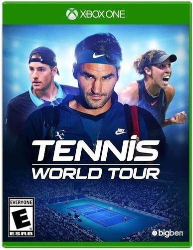 Mídia Física Tennis World Tour Xbox One - Lacrado De Fábrica